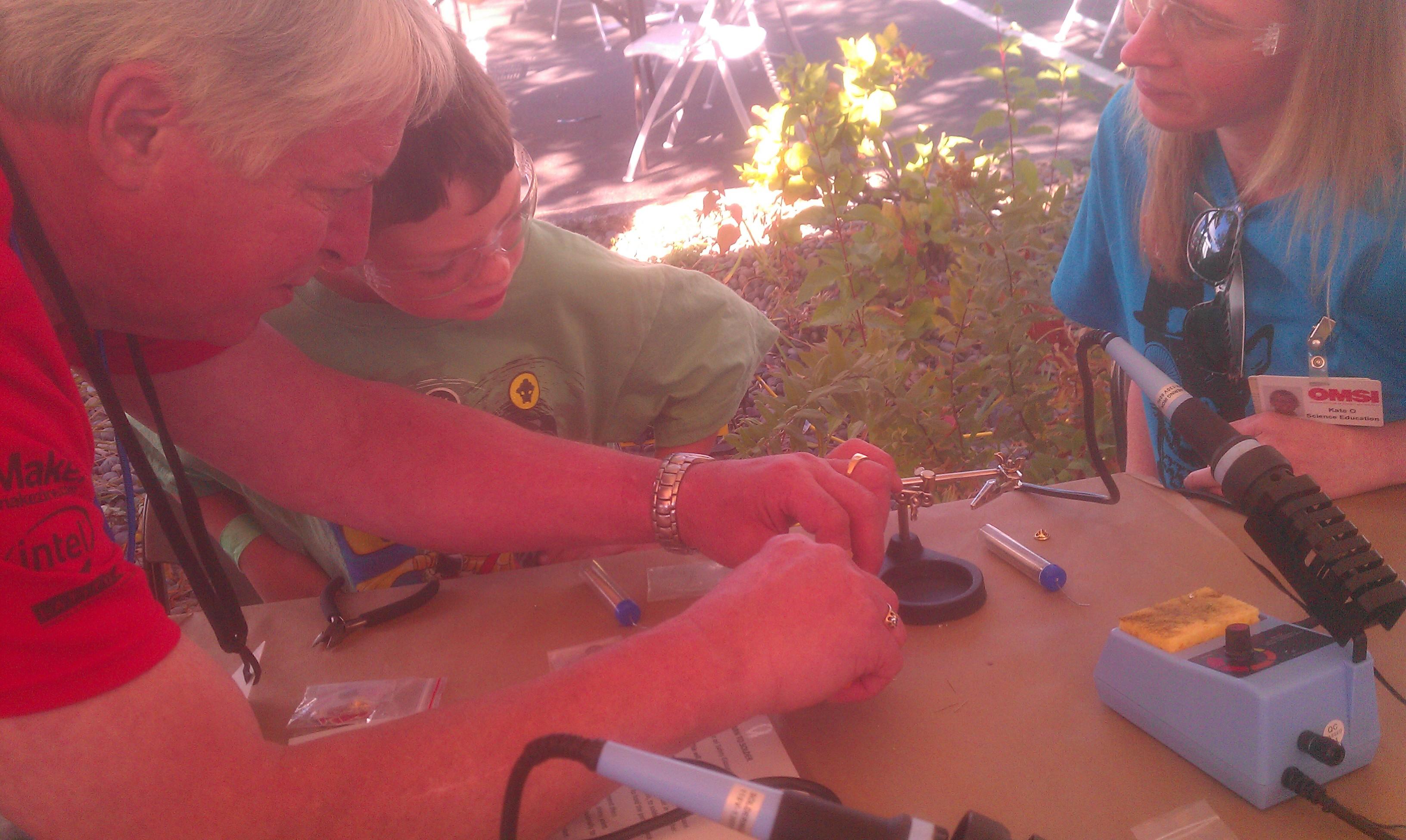 Owen soldering